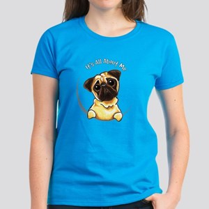 Pug IAAM Women's Dark T-Shirt